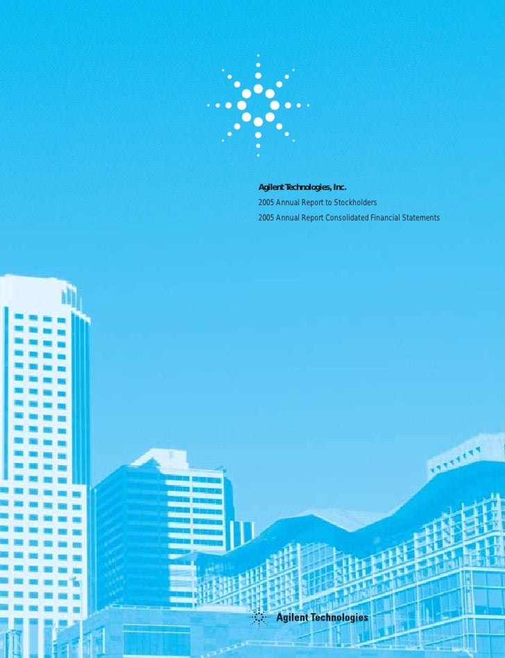 agilent  AnnualReport2005