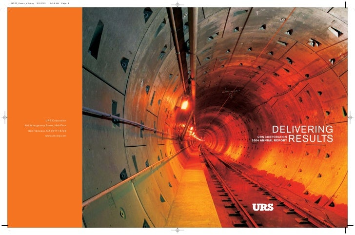 DELIVERING             RESULTS    URS CORPORATION 2004 ANNUAL REPORT