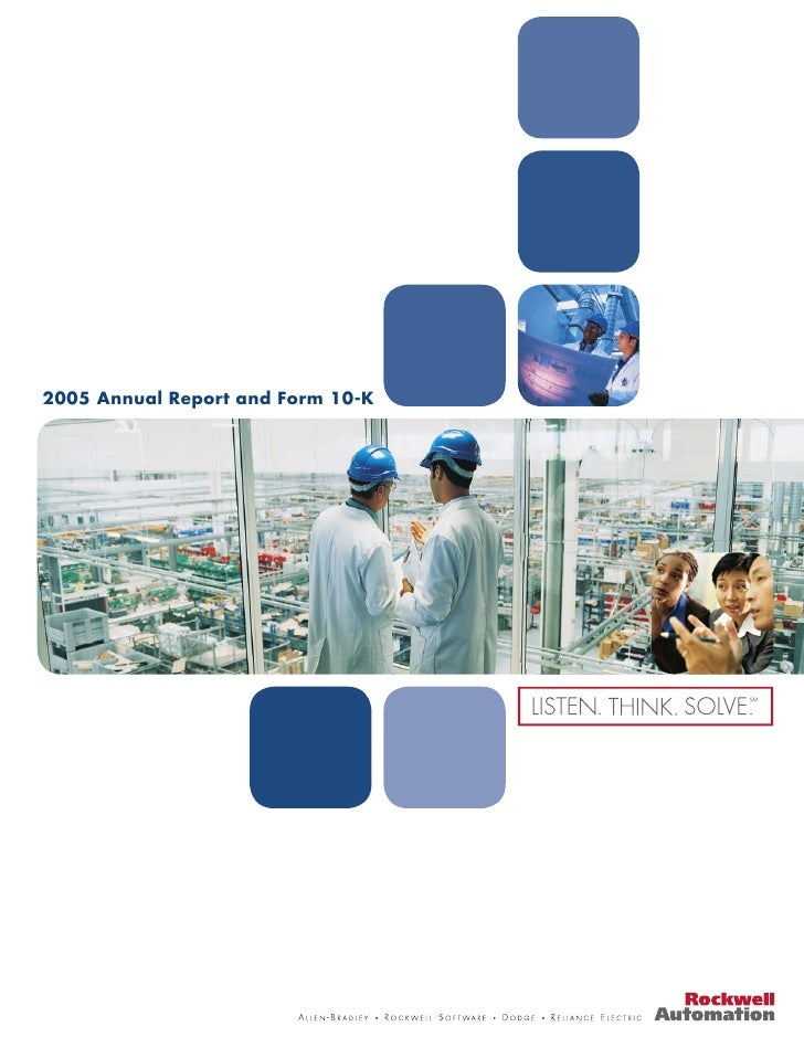 2005 Annual Report and Form 10-K