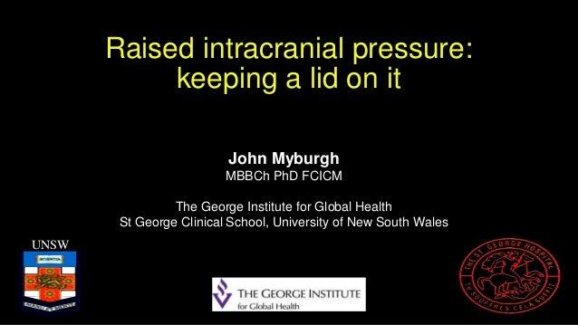 Myburgh, John — Raised ICP: Keeping a Lid on It