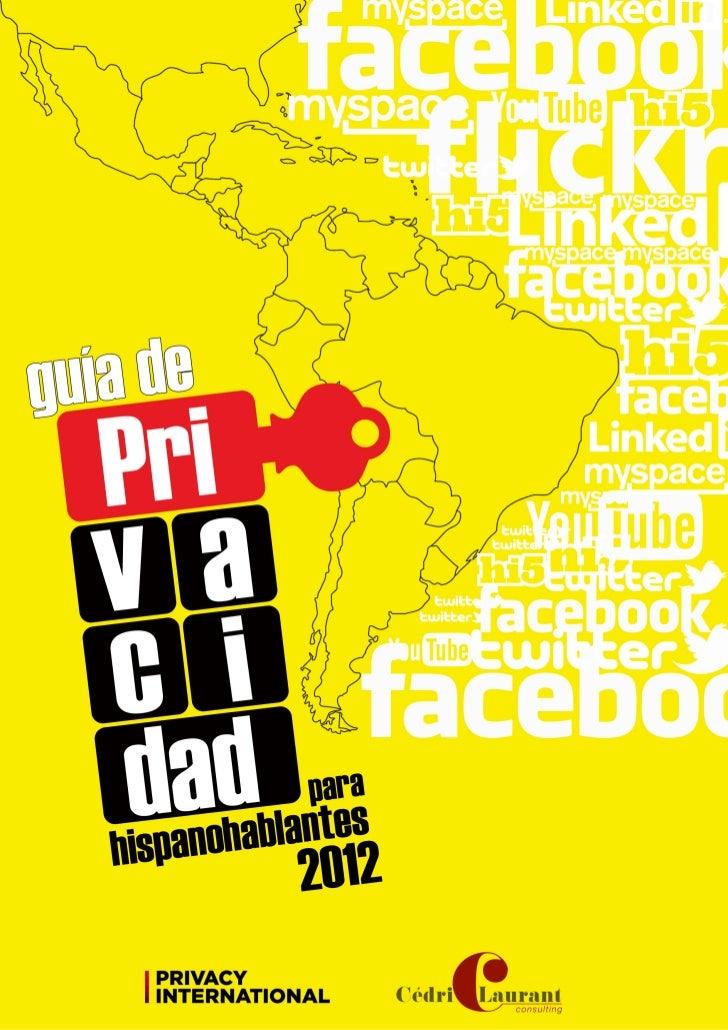 Guia de Privacidad paraHispanohablantes 2012