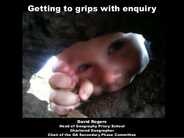 Getting to Grips with enquiry 2011