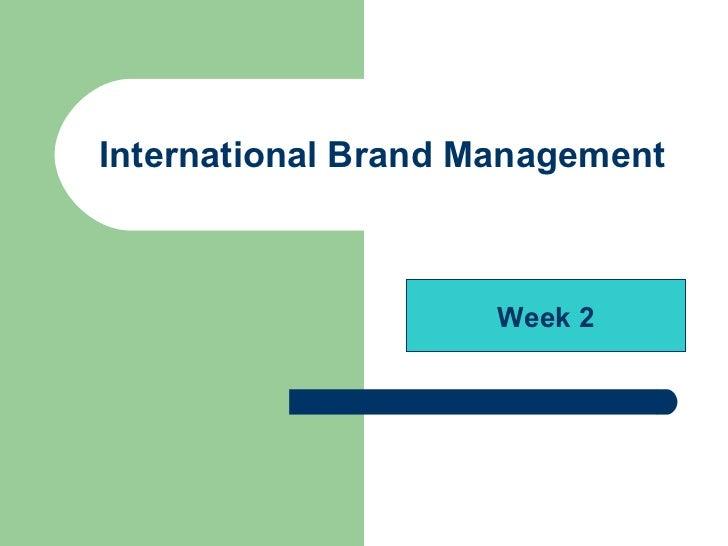 international brand mgmt