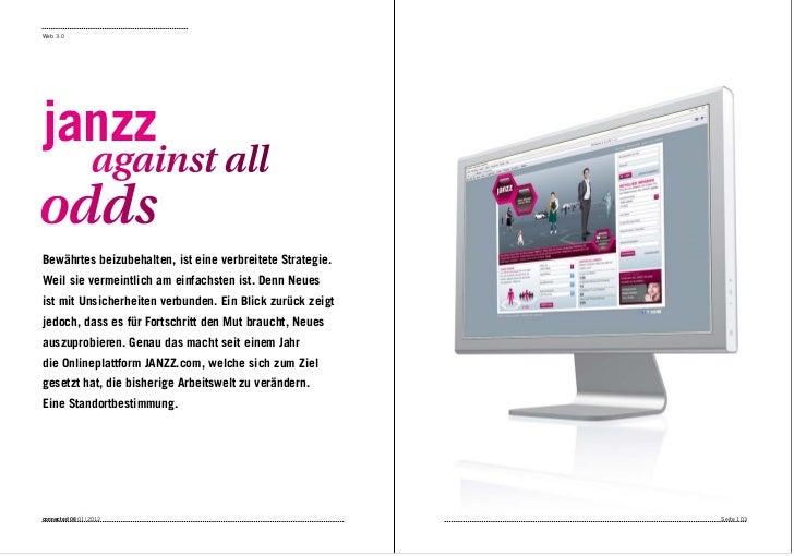 Web 3.0janzz                  against alloddsBewährtes beizubehalten, ist eine verbreitete Strategie.Weil sie vermeintlich...