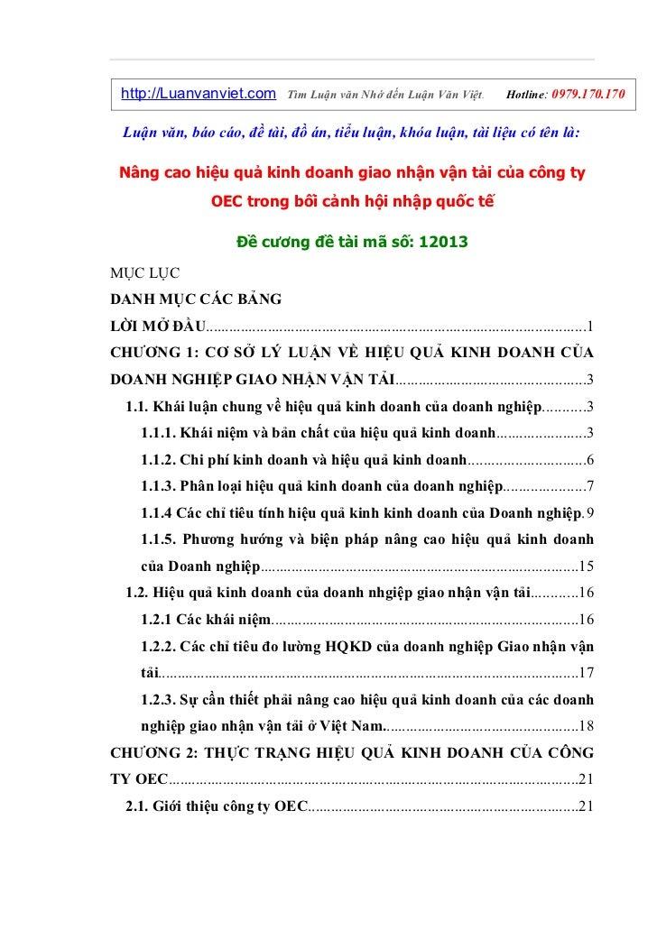 http://Luanvanviet.com                   Tìm Luận văn Nhớ đến Luận Văn Việt.                    Hotline: 0979.170.170   Lu...