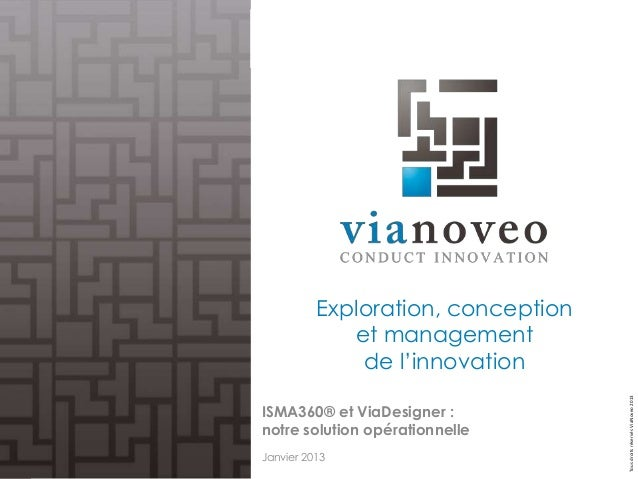 Exploration, conception             et management              de l'innovation                                    Tous dro...