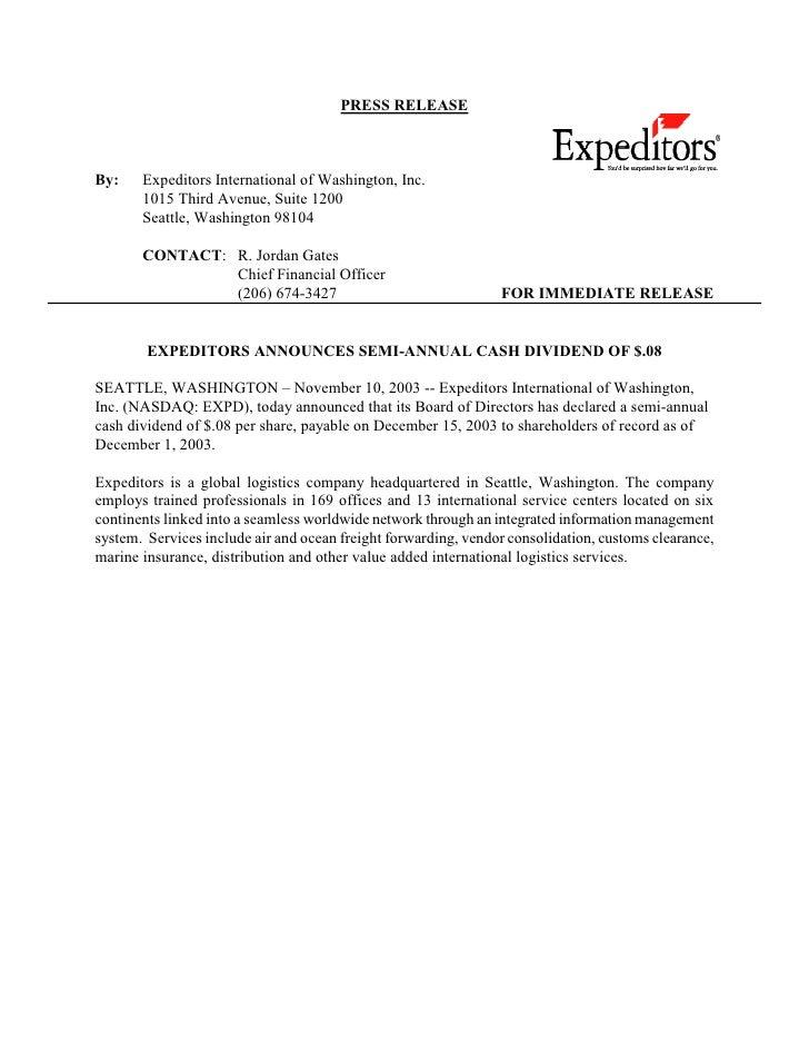 .expeditors2003-11-10