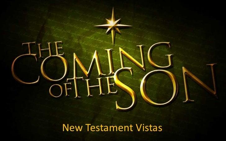 New Testament Vistas