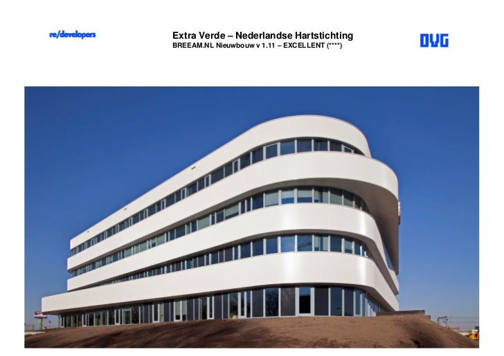 Extra Verde – Nederlandse HartstichtingBREEAM.NL Nieuwbouw v 1.11 – EXCELLENT (****)