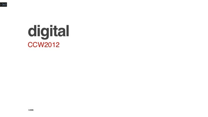digitalCCW2012I-365