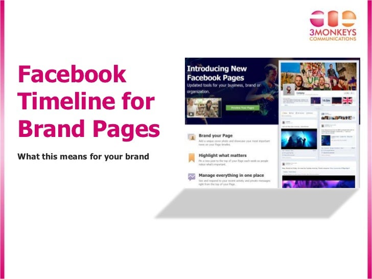 FacebookTimeline forBrand PagesWhat this means for your brand