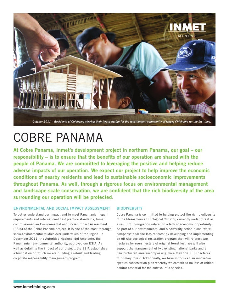 Cobre Panama CR Commitment