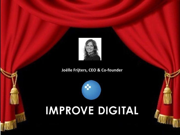 MWG Game Changers - Joëlle Frijters (Improve Digital)