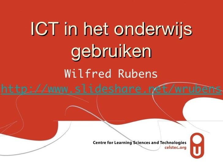 120323 (wr) ict in het onderwijs masterclass leren en innoveren