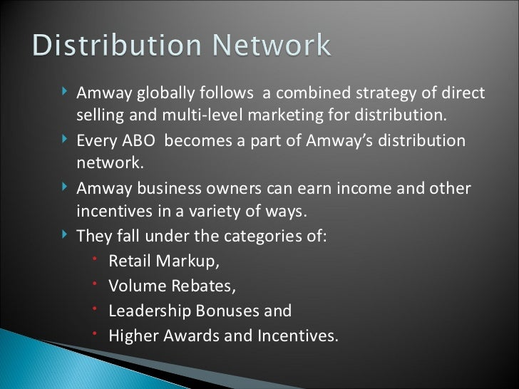 amway global business plan