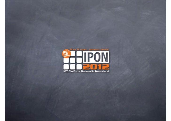 Keynote IPON 2012