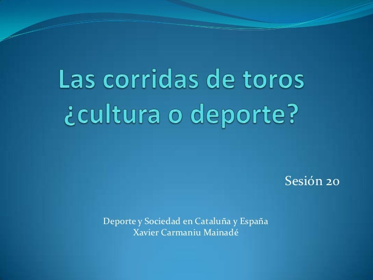 Sesión 20Deporte y Sociedad en Cataluña y España      Xavier Carmaniu Mainadé