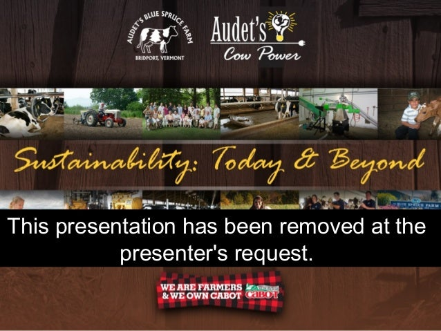 This presentation has been removed at the presenter's request.