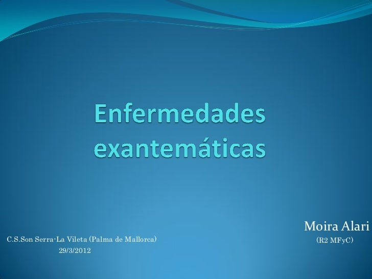 120329  enf. exantemáticas pediatría pdf