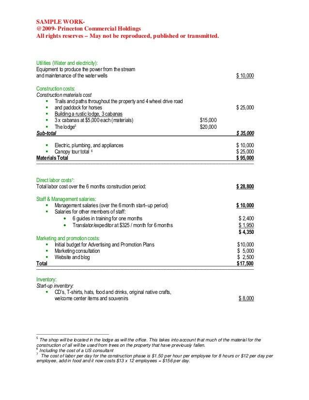 motorsports business plan