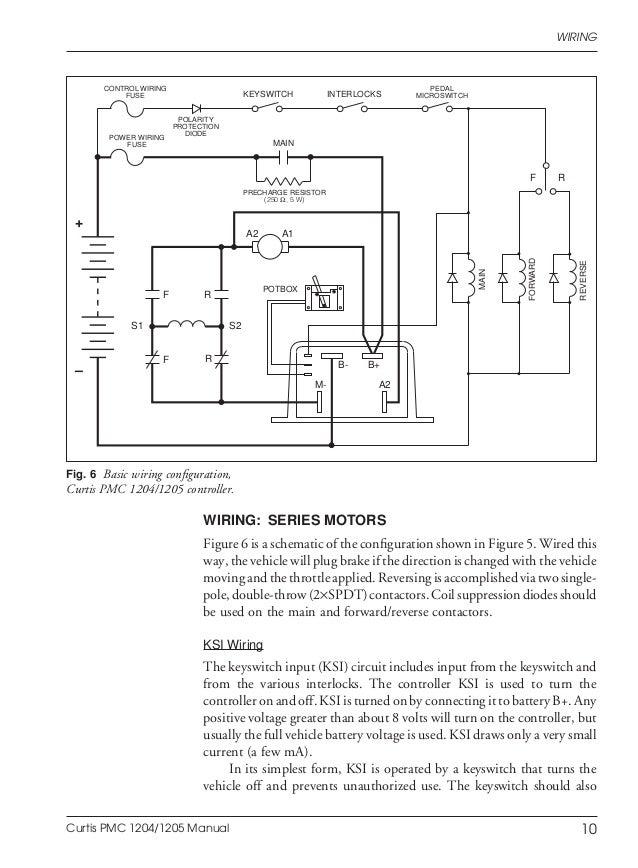 ezgo curtis 1206 controller wiring diagram 36v golf cart