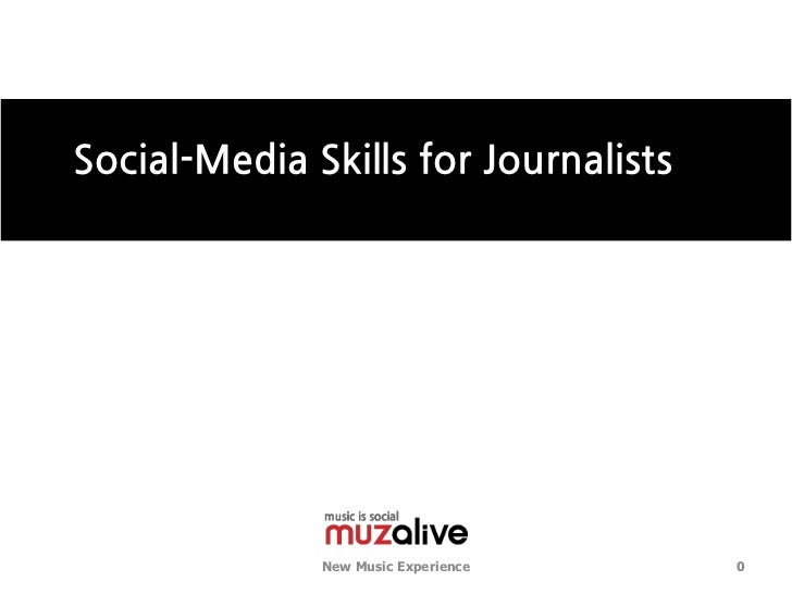 Social media Tool for journalists