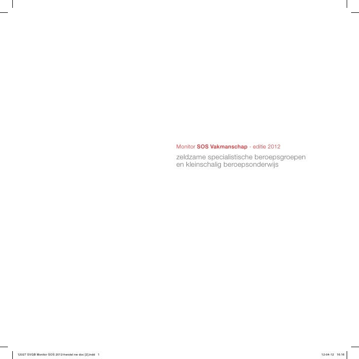 120424 Monitor Sos Vakmanschap 2012