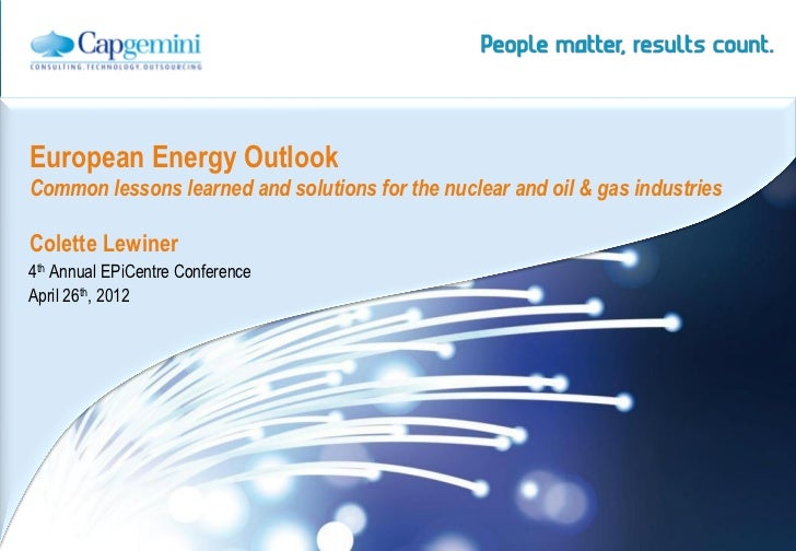 European Energy Outlook