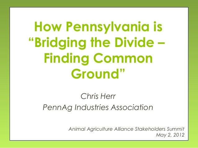 Chris Herr - Bridging the Divide, Finding Common Ground