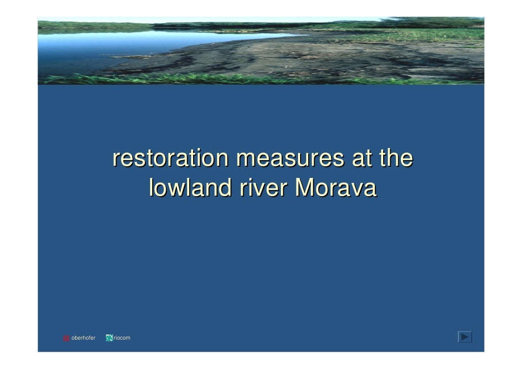 introintroduction            planning process   pilot project   monitoring               restoration measures at the      ...