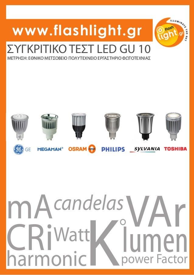 1205 lamp test gu10 led tables. Black Bedroom Furniture Sets. Home Design Ideas