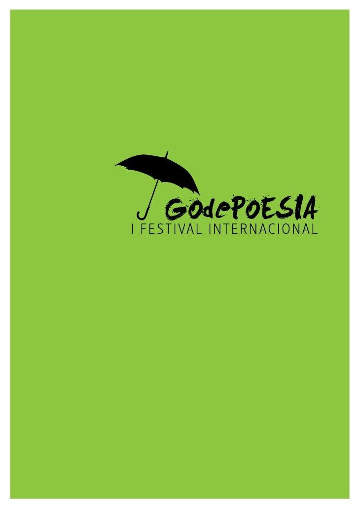 Godepoesía: Festival Internacional de Poesía de Godella