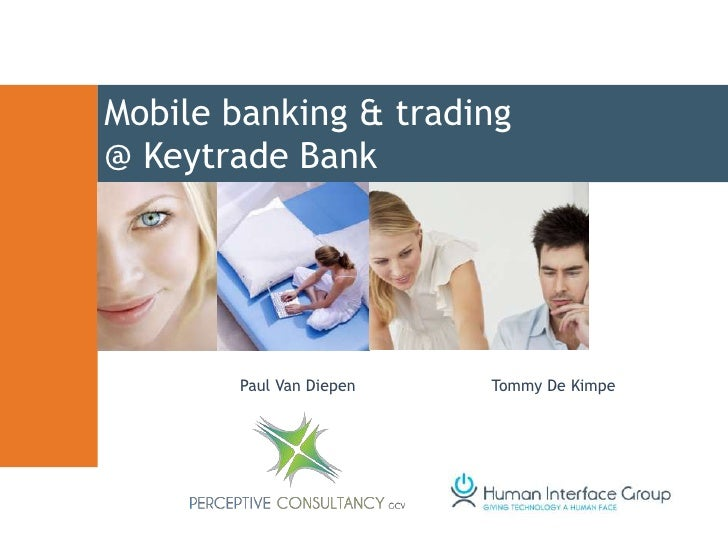ADM: Mobile banking and trading website - Keytrade Bank