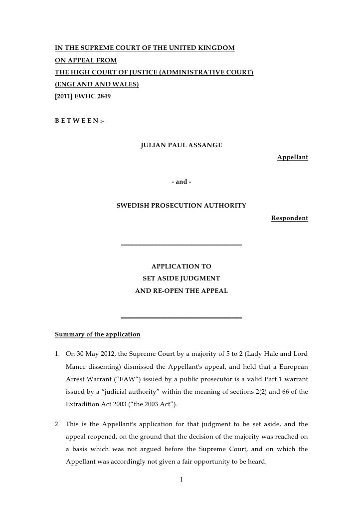 120612 appellant's application to re open judgment 12.6.12