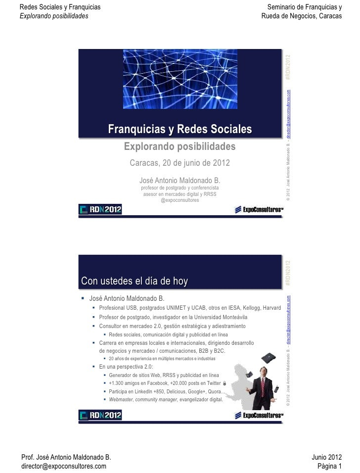 Franquicias y Redes Sociales: Explorando Posibilidades