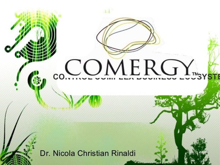 CONTROL COMPLEX BUSINESS ECOSYSTEDr. Nicola Christian Rinaldi