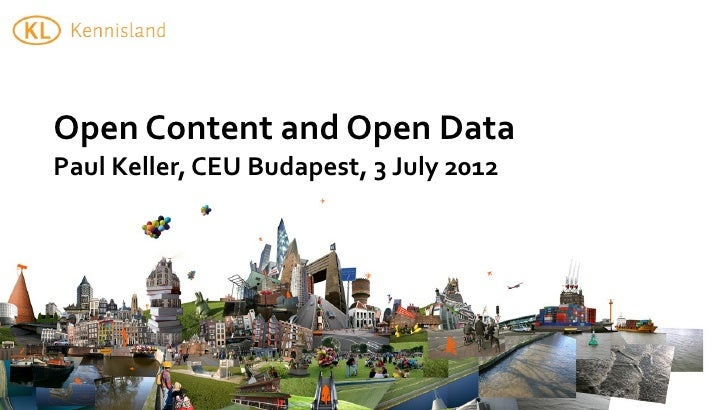 Open Content and Open Data