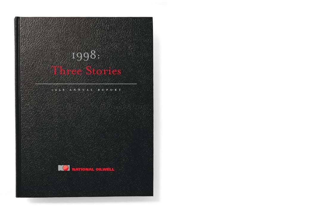 1998: Three Stories 1998   ANNUAL   REPORT