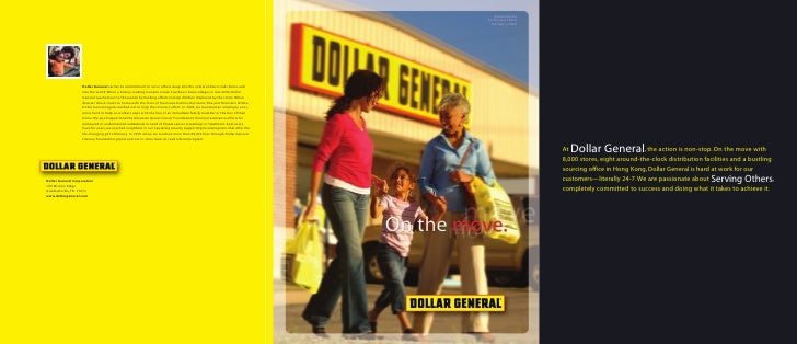 dollar general annual reports 2005