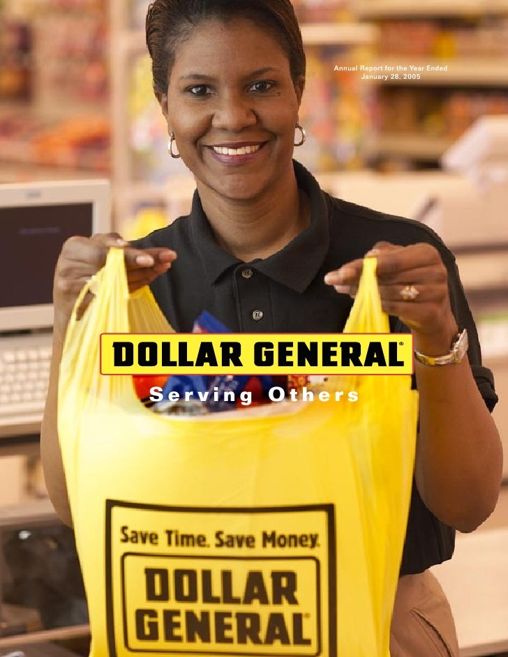 dollar general annual reports 2004