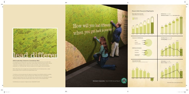 Starbucks Corporation Fiscal 2008 Annual Report