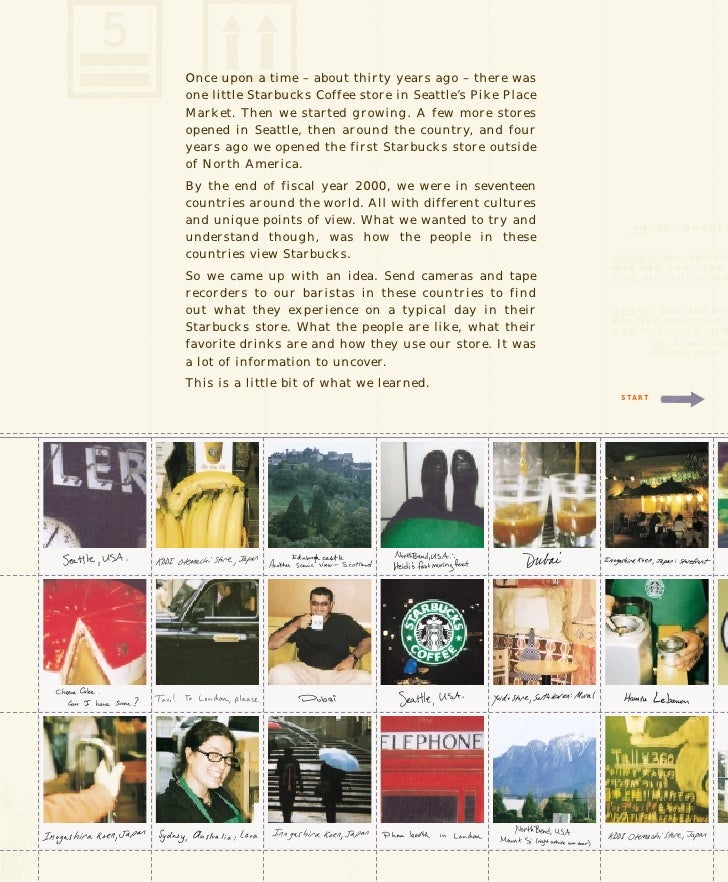 Once upon a time – about thirty years ago – there was one little Starbucks Coffee store in Seattle's Pike Place Market. Th...