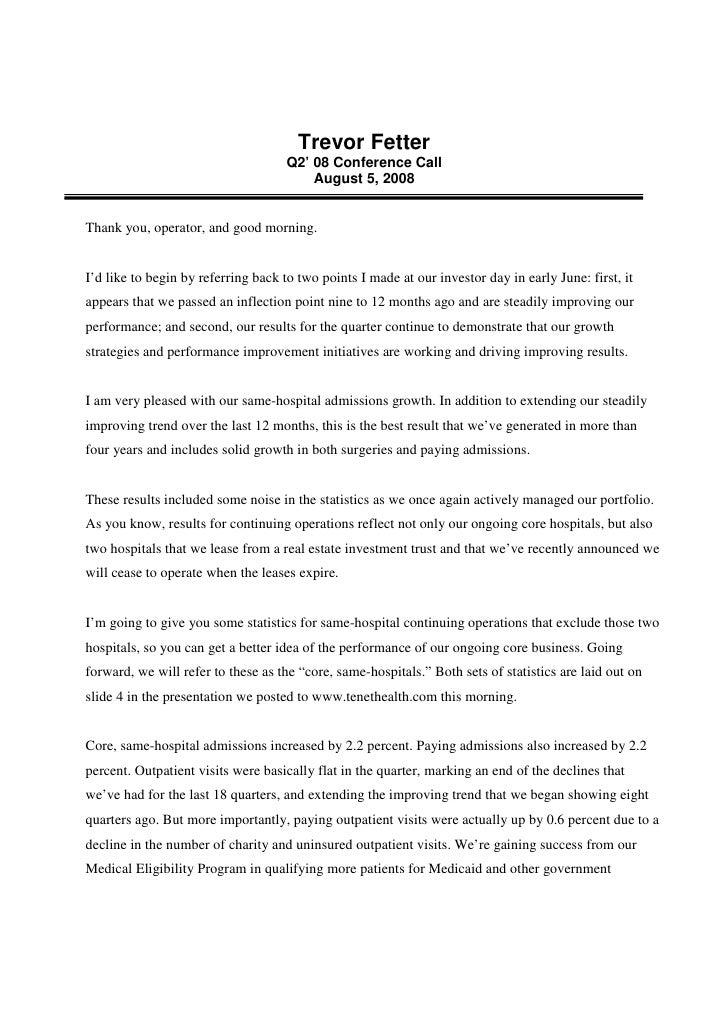 tenet healthcare Q208Scripts_Combined