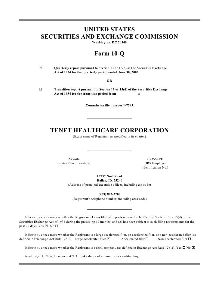 UNITED STATES                 SECURITIES AND EXCHANGE COMMISSION                                                        Wa...
