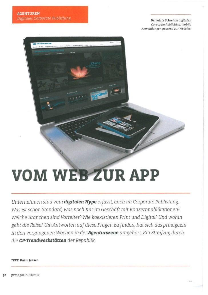 Vom Web zur App