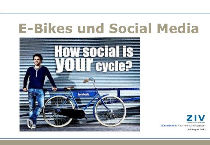 E-Bikes und Social Media                                                                                           Juli/Au...