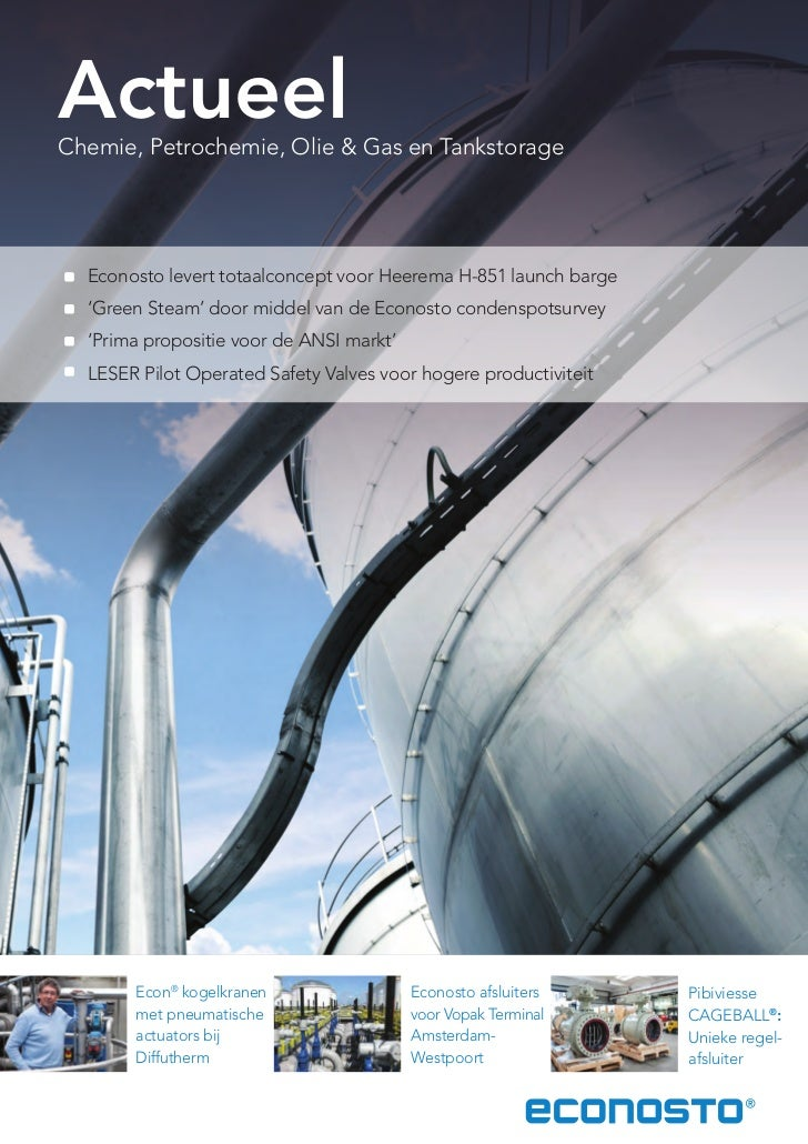 Econosto actueel chemie petrochemie olie & gas tankstorage