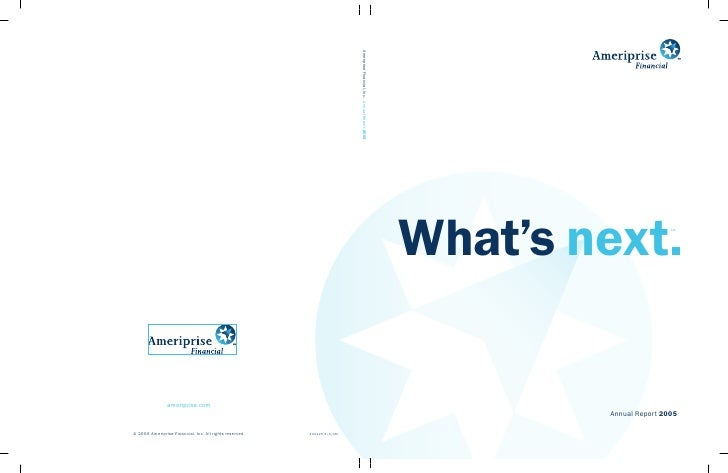 What's next.            SM             Annual Report 2005