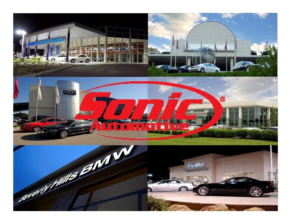 sonic automotive SAHPressReleaseQ208July29