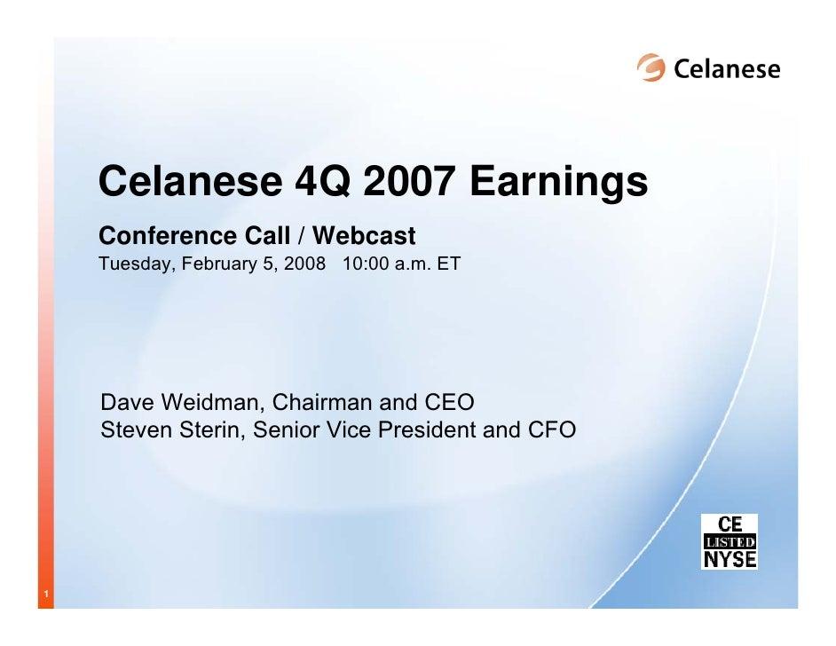 celanese q4_2007_presentation